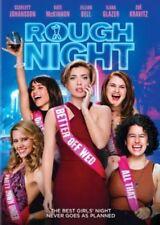 New! Rough Night DVD - Raunchy Female Dark Comedy - Johansson McKinnon Glazer
