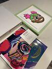 Hebru Brantley Lilac Smile Print /150 Chicago Street Art Signed Custom Framed