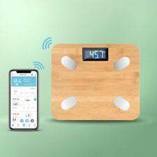 Bluetooth Digital LED Körperwaage Personenwage Fitnesswaage Gewicht Waage ~180kg