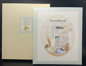 """C.R. Gibson Baby's First Seven Years Scrapbook 14-1/4x12-1/4"""" -takes K053 refill"""