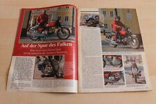 Oldtimer Praxis 2048) Moto Guzzi Nuovo Falcone Sport Restaurierung - ein inter