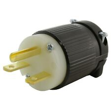NEMA 6-15P 15 Amp 250 Volt Straight Blade Plug Assembly by AC WORKS®