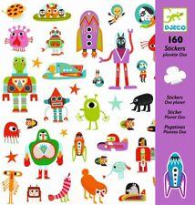Djeco 'Planet' Stickers 160