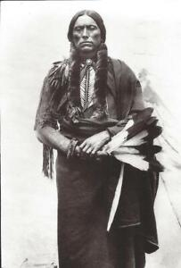 QUANAH PARKER SUB-CHIEF OF QUOHADA BAND INDIAN POSTCARD