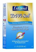 Tri-Vi-Sol Vitamins A, D & C Supplement Drops for Infants, 50ml Bottle (3 Pack)