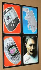 Playstation 1 / Nokia N-Gage / Gizmondo / Kazunori Yamauchi very Rare Card Set
