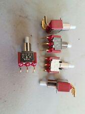 8125SD9V3BE 8125 C/&K SWITCH PUSH SPDT 0.4VA 20V