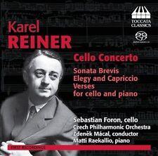 Karel Reiner: Cello Concerto, New Music