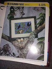 Plastic Canvas Blackbird Nest pattern