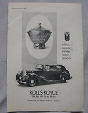 Rolls-Royce British Automobile Advertising