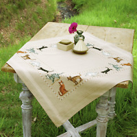 Vervaco - Tablecloth - Embroidery Kit - Cats - PN-0148520