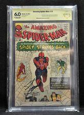 Amazing Spider-man #19 (Marvel, 1964) CBCS SS Stan Lee