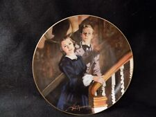 """GONE WITH THE WIND COLLECTORS PLATE """" MELANIE AND ASHLEY"""""""