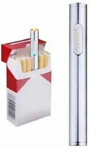 Mini Briquet USB Allume Cigarette Sans Flamme + 1 Câble Recharge Rapidement NEUF