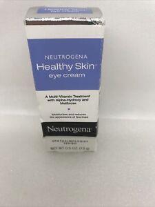 Neutrogena Healthy Skin Eye Firming Alpha-Hydroxy Acid Cream - 0.5oz NEW