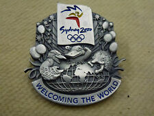 "Benson House ""Welcoming the World"" Pewter Pin Sydney 2000 Olympic Games"