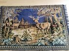 Vintage Soviet Union tapestry with deer ornament, perfect condition