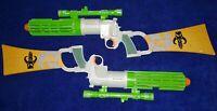 Star Wars Boba Fett's Mandalorian Electronic Blaster Rifle x2 - Used