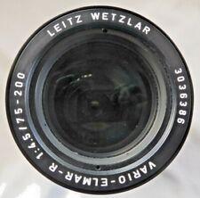 Leitz Wetzlar Leica Vario Elmar R 75-200mm F4.5 Good Condition
