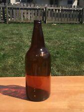 32 oz. Vintage amber Duraglas beer bottle GB-1530
