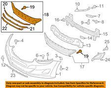 2011-2013 Hyundai Elantra Grille Lower Genuine OEM New 865603X200 86560-3X200