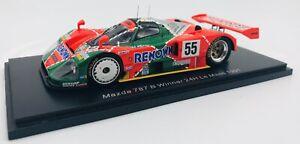 Spark 1/43 Mazda 787B Winner Le Mans 1991 - Weidler/Herbert/Gachot #43LM91