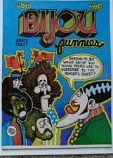 BIJOU FUNNIES #2 1ST PRINT VF+ 8.5 1969 BIJOU PUBLISHING EMPIRE
