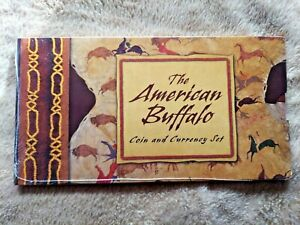 "2001AMERICAN BUFFALO COIN AND CURRENCY SET ""SEALED / BRAND NEW"""