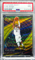 Kyrie Irving 2019-2020 Panini Select Courtside Gold Wave PSA 9 POP 1 Nets #241