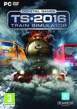 Train SIMULATOR 2016 (PC DVD NUOVO E SIGILLATO