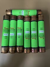 (7) Bussmann Fusetron Frs-R-45 Energy Efficient 45 Amp Rk5 Dual Element Fuse Lot