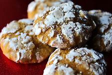 4 Dozen! Homemade Soft Pumpkin Crinkle Cookies + Gift Box, free shipping  yummy