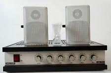 Bouyer as 35-b 100 voltios tecnología amplificador amplifier con 2 cajas estoyseguro 30w