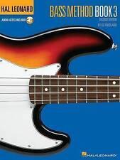 Hal Leonard Bass Method: Book 3 by Ed Friedland (Mixed media product, 2004)