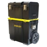 Rolling Tool Box Storage Bin, Organizer & Top Tool Box Detachable 11 in. 3-in-1