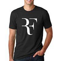 Roger Federer T-Shirt Men Fashion Shirt Fitness Cotton Summer Tshirt Print Wear