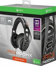 Plantronics RIG 400HX Wired Stereo Gaming Headset for Xbox One PS4 Dolby Atmos