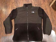 Girl's The North Face DENALI fleece brown jacket XL (18) Women's SMALL S