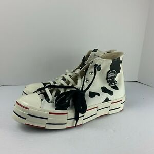 Converse Chuck Taylor All-Star 70s Hi Brain Dead Egret Cow Print 169946C Sneaker