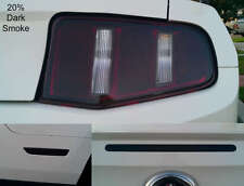 10-12 Mustang precut Tail light-Rear side marker & 3rd brake light overlays tint