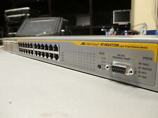 Allied Telesis AT-8624T/2M Layer 3 24 Port L3 10/100 Fast Managed Network Switch