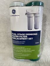 GE appliances Dual Stage Drinking Water Filter Replacement Set FXSVC New Sealed