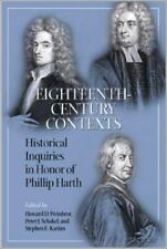 Eighteenth-Century Contexts: Historical Inquiries in Honor of Philip Harth: B...