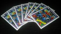 (9) 1990 Impel Marvel Universe Comics Card Rookie Lot Series 1 Thanos #79