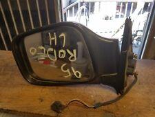 1995 ISUZU RODEO DOOR MIRROR DRIVER LH SIDE OEM POWER 3 WIRES BLACK COLOR
