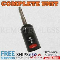 Keyless Entry Remote for 2005 2006 2007 Mazda 6 Wagon Car Key Fob Control
