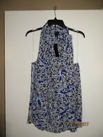 Women's Worthington Dressy Tanks NEW WITH TAGS! Blue Floral or Orange Striped!