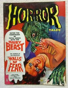 HORROR TALES  V.4 #2  (March 1972)    Eerie Pub.
