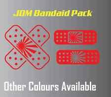 Bandage pack of 3 Band aid Sticker Decal, 4X4 JDM Ute Car Truck,Custom ek