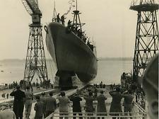 Le torpilleur italien Cigno Vintage silver print Tirage argentique  18x24